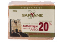 savon d'Alep traditionnel 20%